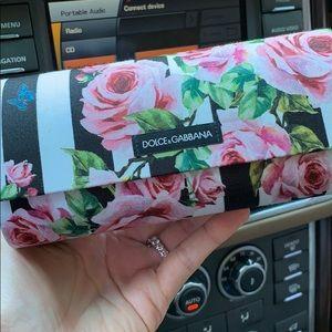 Dolce & Gabbana Floral Sunglass Case